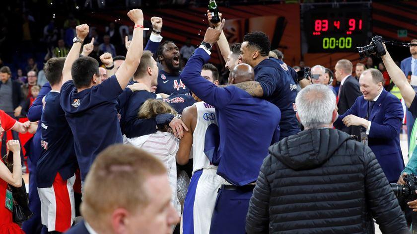 CSKA é campeão europeu de basquetebol