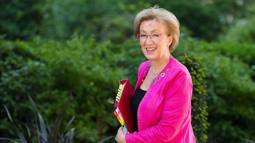 Andrea Leadsom apresentou a demissão. Foto: Vickie Flores/EPA