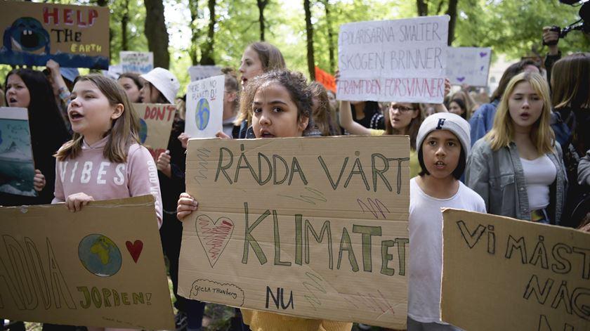 Estocolmo, Suécia Foto: Janerik Henriksson/EPA
