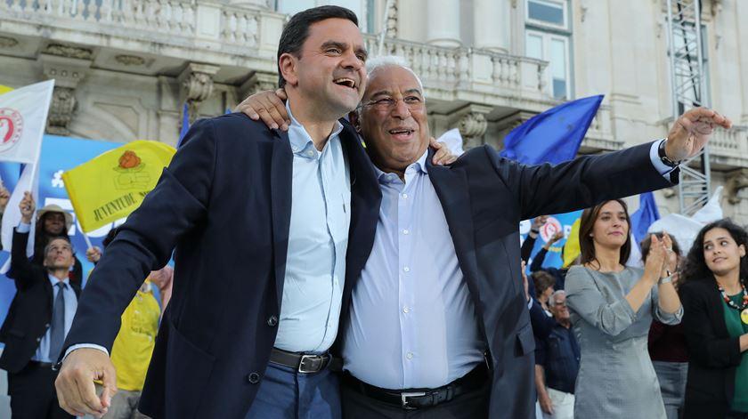 """António Costa faz derradeiro apelo. """"Vamos todos votar numa grande vitória do PS"""""""