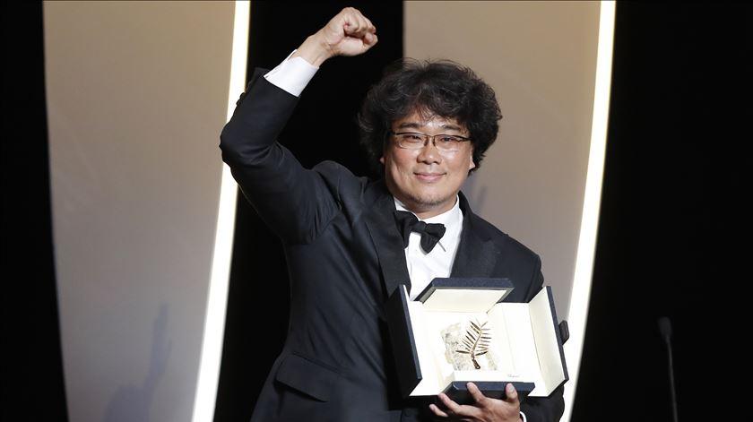 "Palma de Ouro de Cannes para o filme ""Parasite"", do sul-coreano Bong Joon-ho"