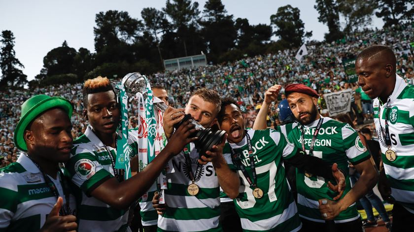 Taça de Portugal. A festa do Sporting no Jamor