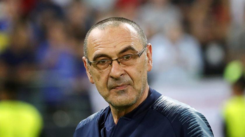 Maurizio Sarri é o novo treinador de Ronaldo na Juventus