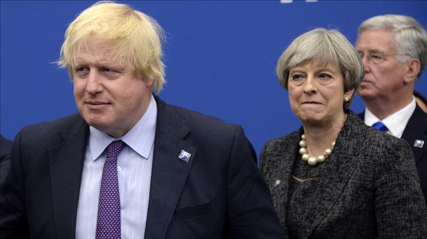 """""""Boris Johnson reclama"""