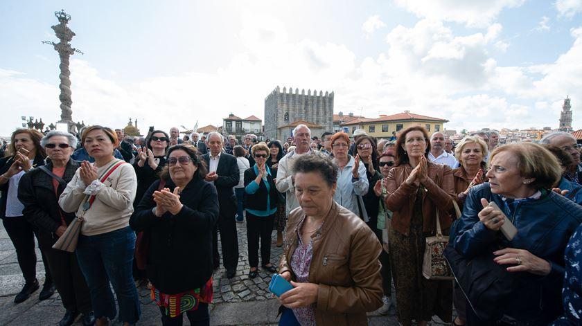 Centenas de pessoas no último adeus a Agustina Bessa-Luís