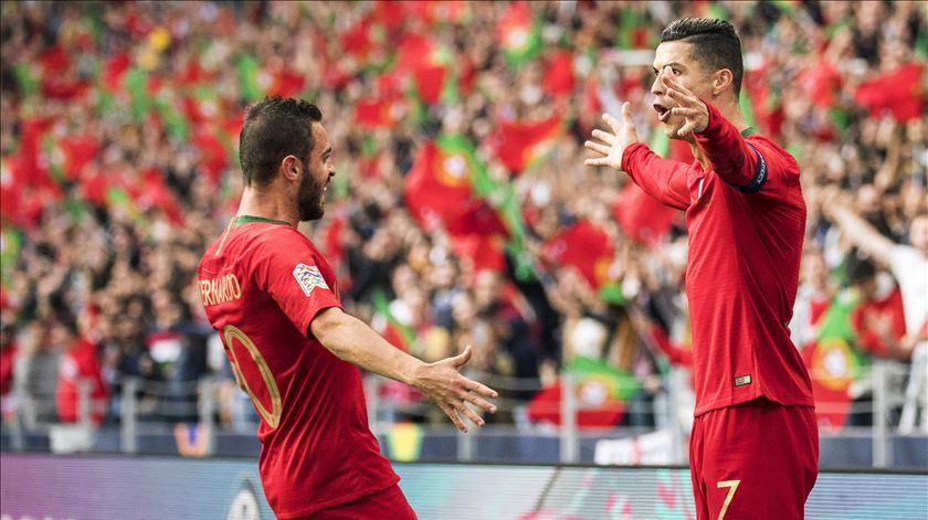 """Cristiano Ronaldo """"é um exemplo"""" para as novas gerações"""