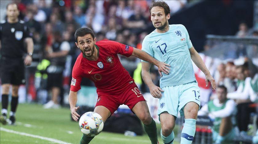 Bernardo Silva eleito melhor jogador da Liga das Nações