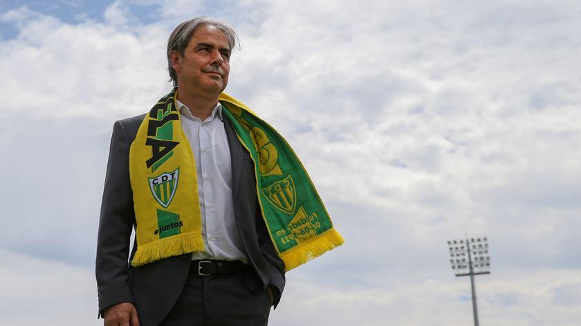 Natxo González deixa o Tondela