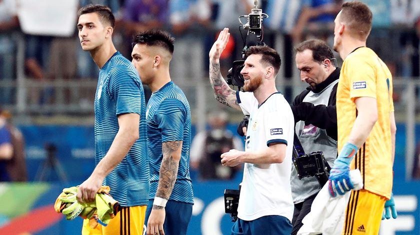 A triste Copa America