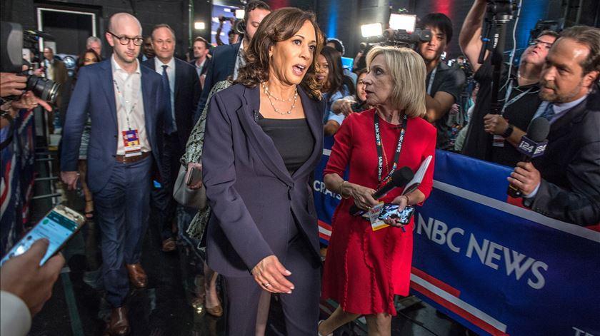 Presidenciais 2020. Kamala Harris ofusca rivais em novo debate dos democratas