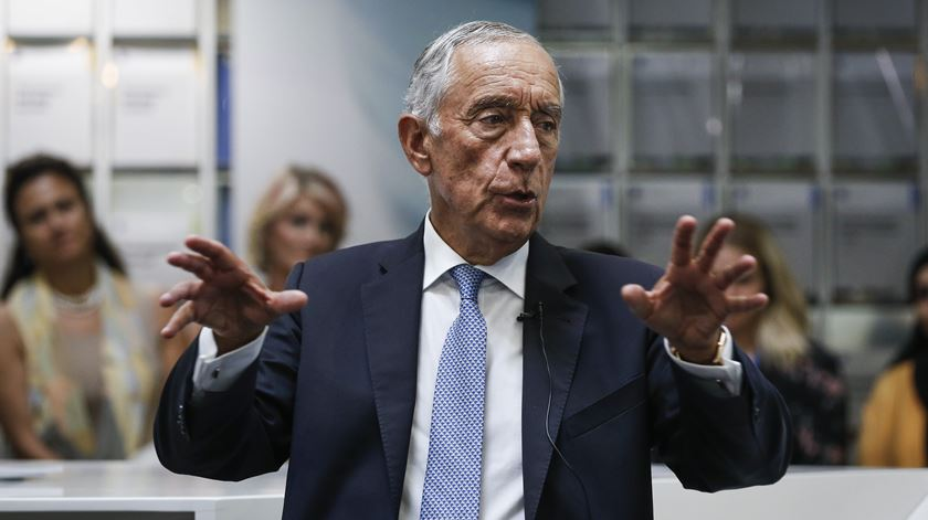 "Marcelo considera que ""vale a pena refletir"" sobre auditoria ao Fundo Revita"