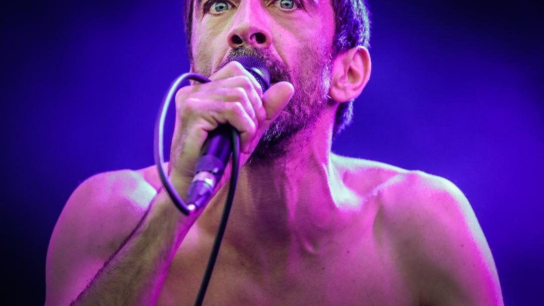 Manel Cruz, dos Ornatos Violeta, no festival Alive. Fotos: Mário Cruz/Lusa