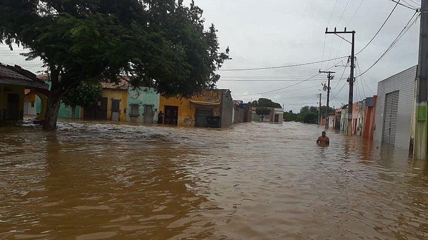 Cidade Coronel João Sá. Foto: Diego Santos/Defesa Civil da Bahia