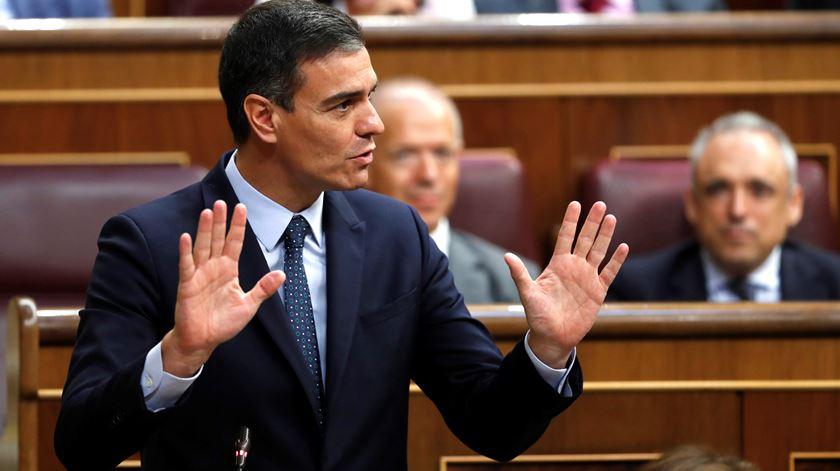 Com pedido ignorado, Unidas Podemos abstém-se e inviabiliza investidura de Sánchez