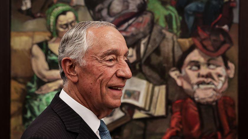 Marcelo Rebelo de Sousa. Foto: Mário Cruz/Lusa