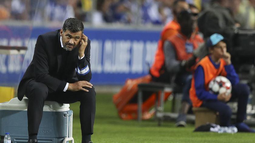 """Conceição responde a Drulovic. """"Dou tanto ao FC Porto que também pode ir a cabeça"""""""