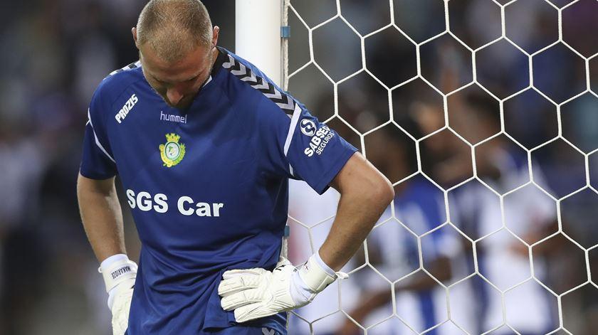 """Makaridze. """"Preferia não perder com o Benfica e perder todos os outros jogos"""""""