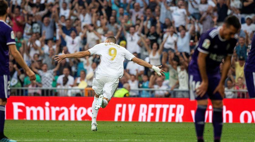 Benzema, Real Madrid. Foto: Rodrigo Jimenez/EPA