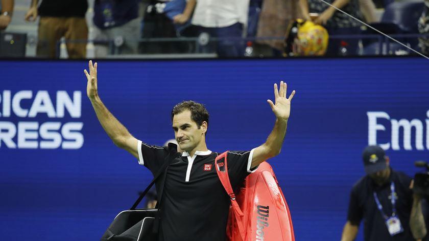 Tenista suíço Roger Federer vence jogo 1500 da carreira