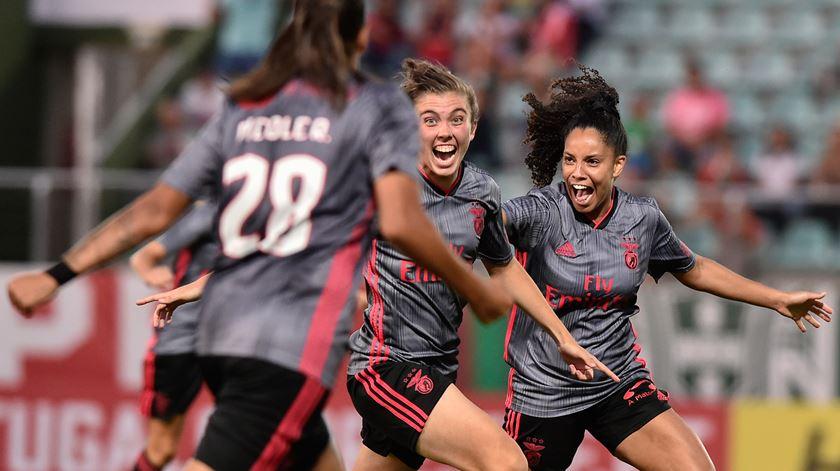Benfica defronta PAOK na qualificação para a Liga dos Campeões feminina