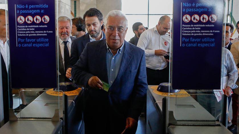 """António Costa não quer que """"se repita cá o que está a acontecer em Espanha"""""""