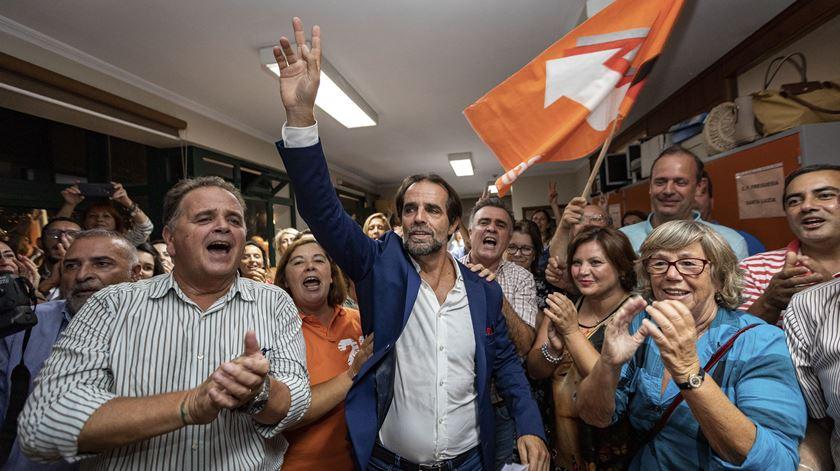 Miguel Albuquerque quer fazer coligação com o CDS. Foto: Gregório Cunha/Lusa
