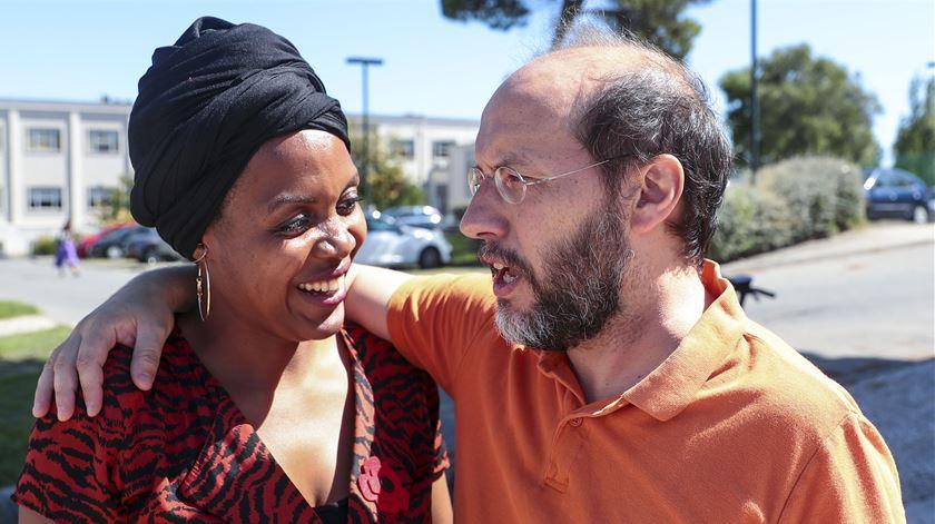 Joacine Katar Moreira entregou carta de desvinculação do Livre