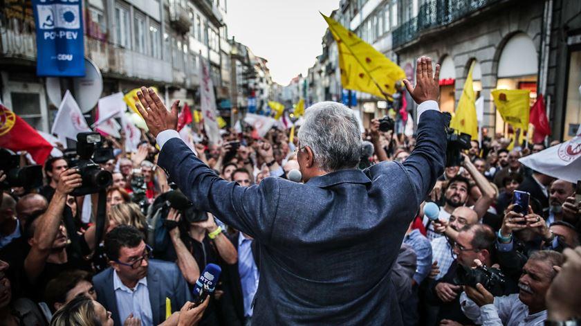 Caso Tancos. António Costa convida Rui Rio a voltar à campanha