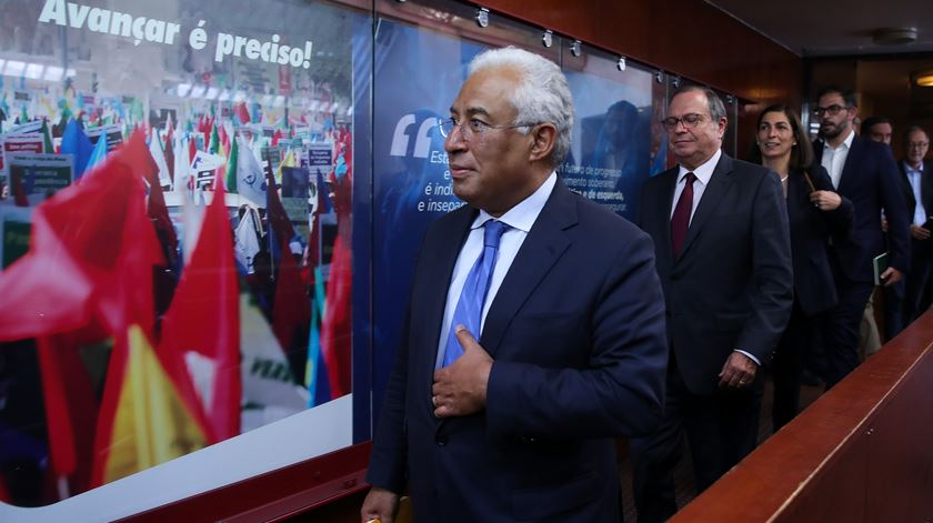 """Costa aceita """"não"""" de Jerónimo e diz que vai trabalhar com o PCP para aprovar Orçamento"""