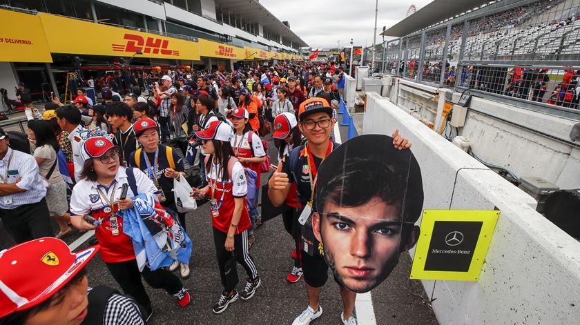 Fórmula 1. Tufão adia qualificação do Grande Prémio do Japão