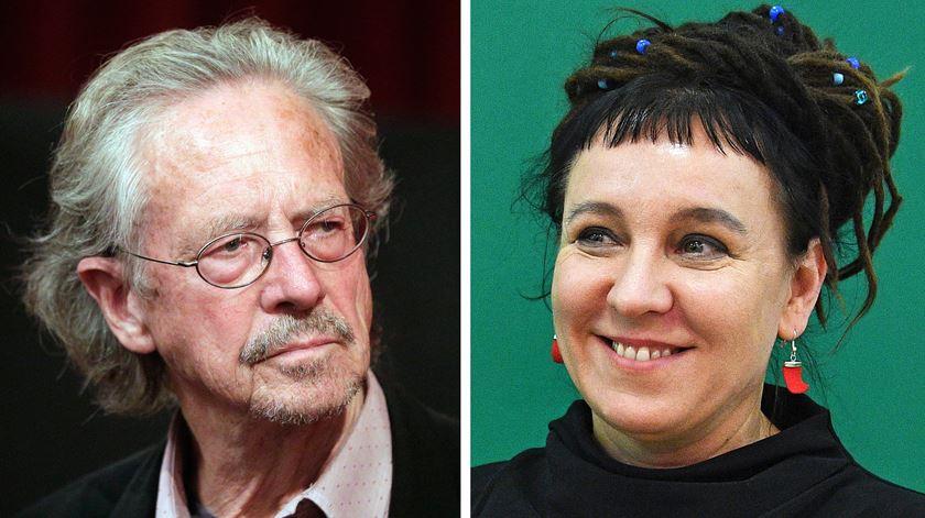 Nobel da Literatura atribuído a Peter Handke (2019) e Olga Tokarczuk (2018)