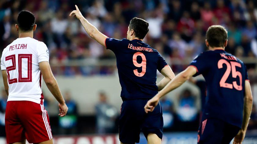 Bayern leva a melhor em casa do Olympiacos