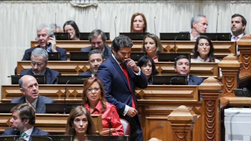 André Ventura não vai à posse do Governo em protesto