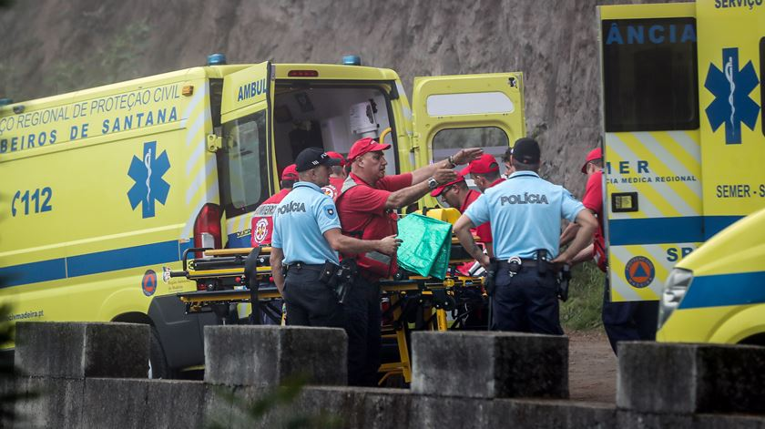 Derrocada na Madeira deixa onze feridos de quatro nacionalidades
