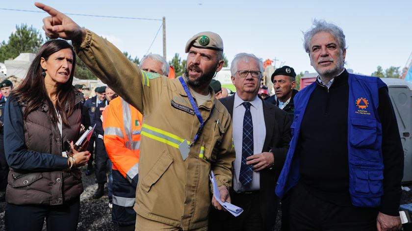 "Entreajuda na Europa ""é fundamental"" para responder a desastres naturais"
