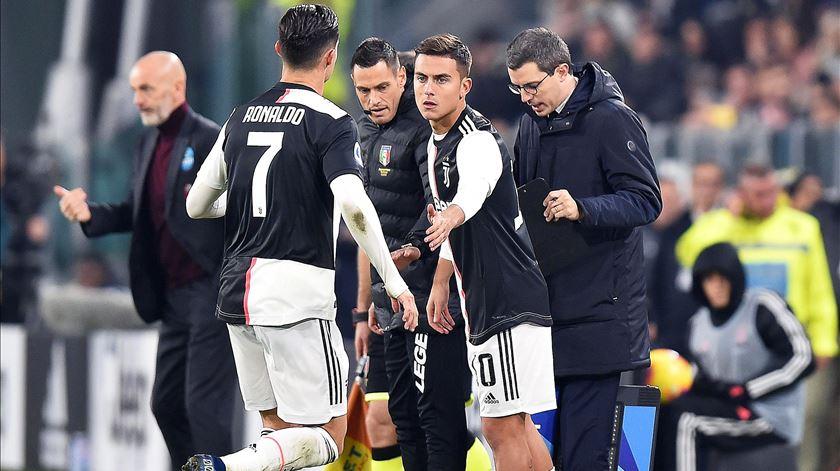 """Mancini acredita que Ronaldo """"vai pedir desculpa"""" aos colegas de equipa da Juventus"""