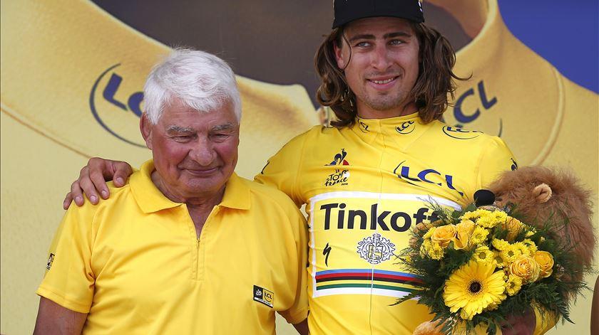 """Marco Chagas recorda Poulidor, """"uma das maiores figuras da história do ciclismo"""""""