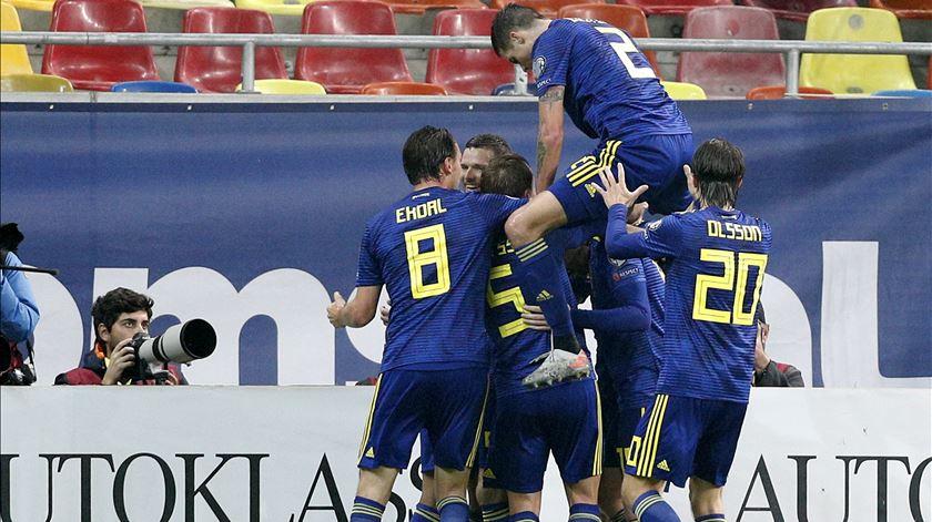 Suécia já está no Euro 2020