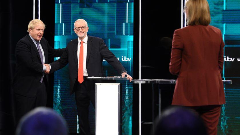 Reino Unido. Brexit e SNS marcam debate Boris Johnson vs Jeremy Corbyn