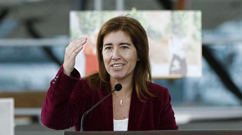 A ministra do Trabalho, Ana Mendes Godinho. Foto: António Pedro Santos/Lusa