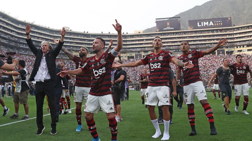 """Jesus despede-se do Flamengo. """"Foram 13 meses de união perfeita"""""""