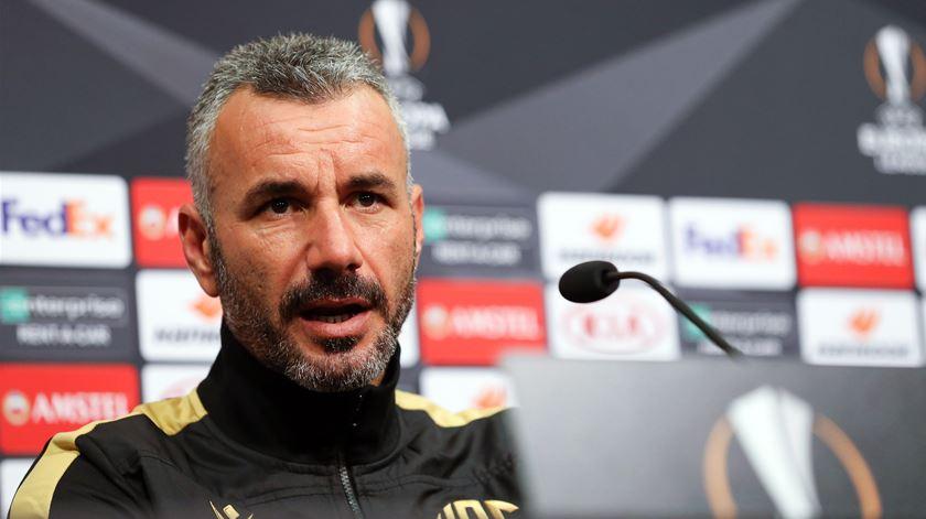 """Ivo Vieira quer aproveitar """"apoio massivo"""" dos adeptos e eliminar o FC Porto da Taça da Liga"""