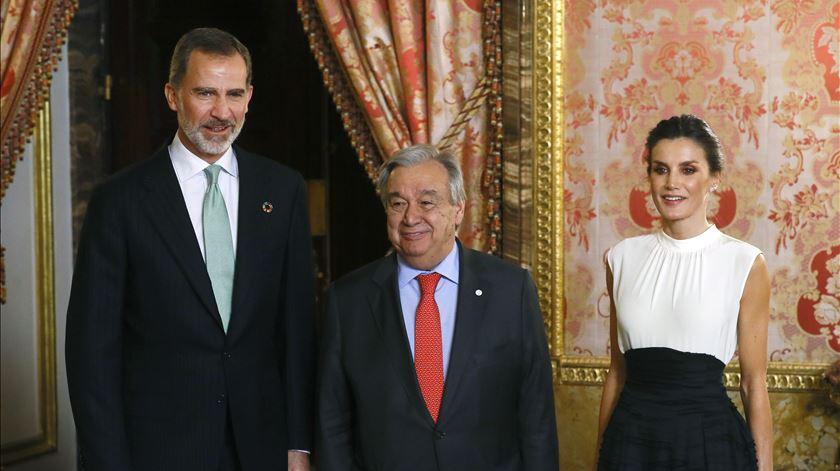 COP25: Rei de Espanha pede determinação na luta contra a crise climática