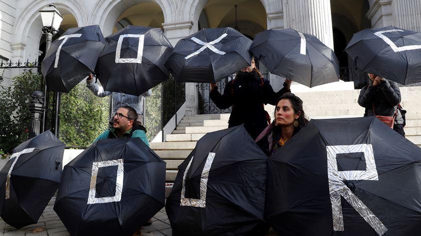 Cimeira do clima. Ecologistas acusam polícia de travar manifestação