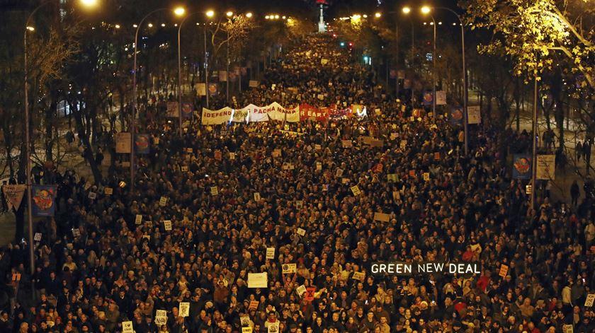 Madrid. A Marcha pelo Clima vista pela Renascença