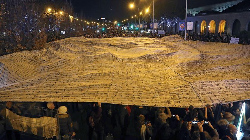 COP 25. Marcha pelo Clima junta milhares de pessoas em Madrid