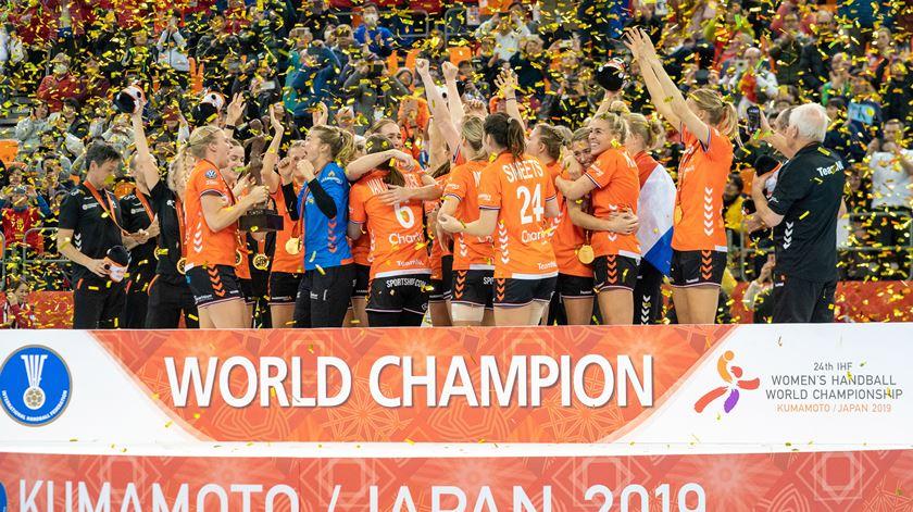 Andebol feminino. Holanda é campeã mundial