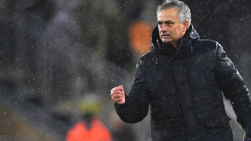 """""""Top-4"""" com o Tottenham seria o maior feito da carreira de Mourinho"""