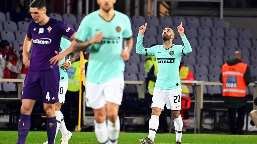 Inter empata e deixa-se apanhar pela Juventus