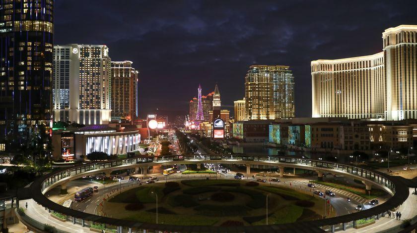 Os casinos em Macau faturam agora num mês, o que antes faziam num dia. Foto: João Relvas/Lusa